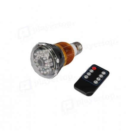 Ampoule caméra espion Wifi