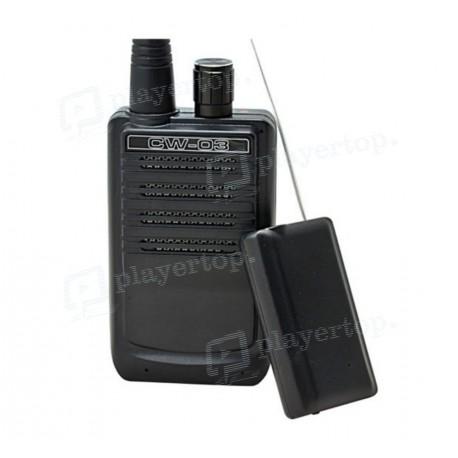 Émetteur - récepteur - enregistreur vocal