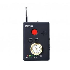 Détecteur micro et caméra espion