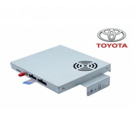 Interface vidéo Toyota Prado (2013 et plus) avec module de navigation