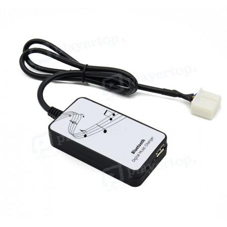 Interface audio Honda avec connecteur blanc Bluetooth