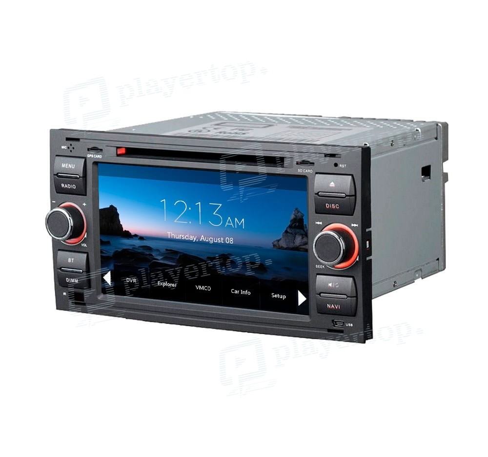 autoradio gps ford kuga 2006 2011. Black Bedroom Furniture Sets. Home Design Ideas