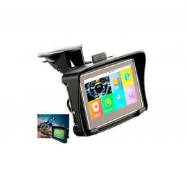 GPS pour moto - Ecran tactile 4,3 pouces