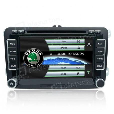 Auto-radio Skoda Roomster (2006-2013)