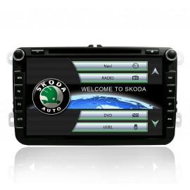 Poste auto GPS Skoda Fabia (2006-2013)