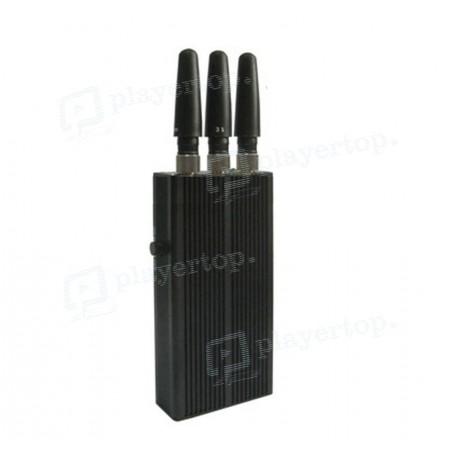 Brouilleur de téléphone 3 antennes omnidirectionnelles
