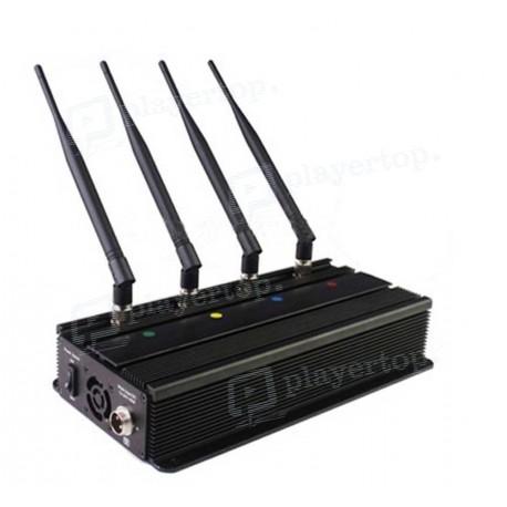 Brouilleur de téléphone 4 antennes omnidirectionnelles