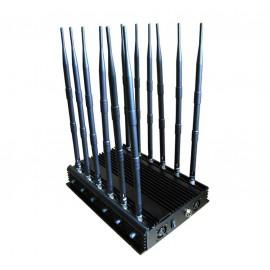 Brouilleur de téléphone 12 antennes omnidirectionnelles