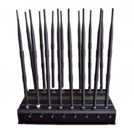 Brouilleur de téléphone 16 antennes omnidirectionnelles