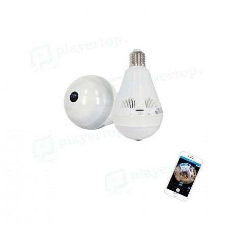 Caméra IP WiFi Ampoule