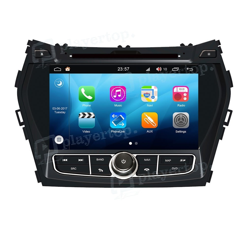 autoradio hyundai ix45 2012 2013 android 8 0. Black Bedroom Furniture Sets. Home Design Ideas