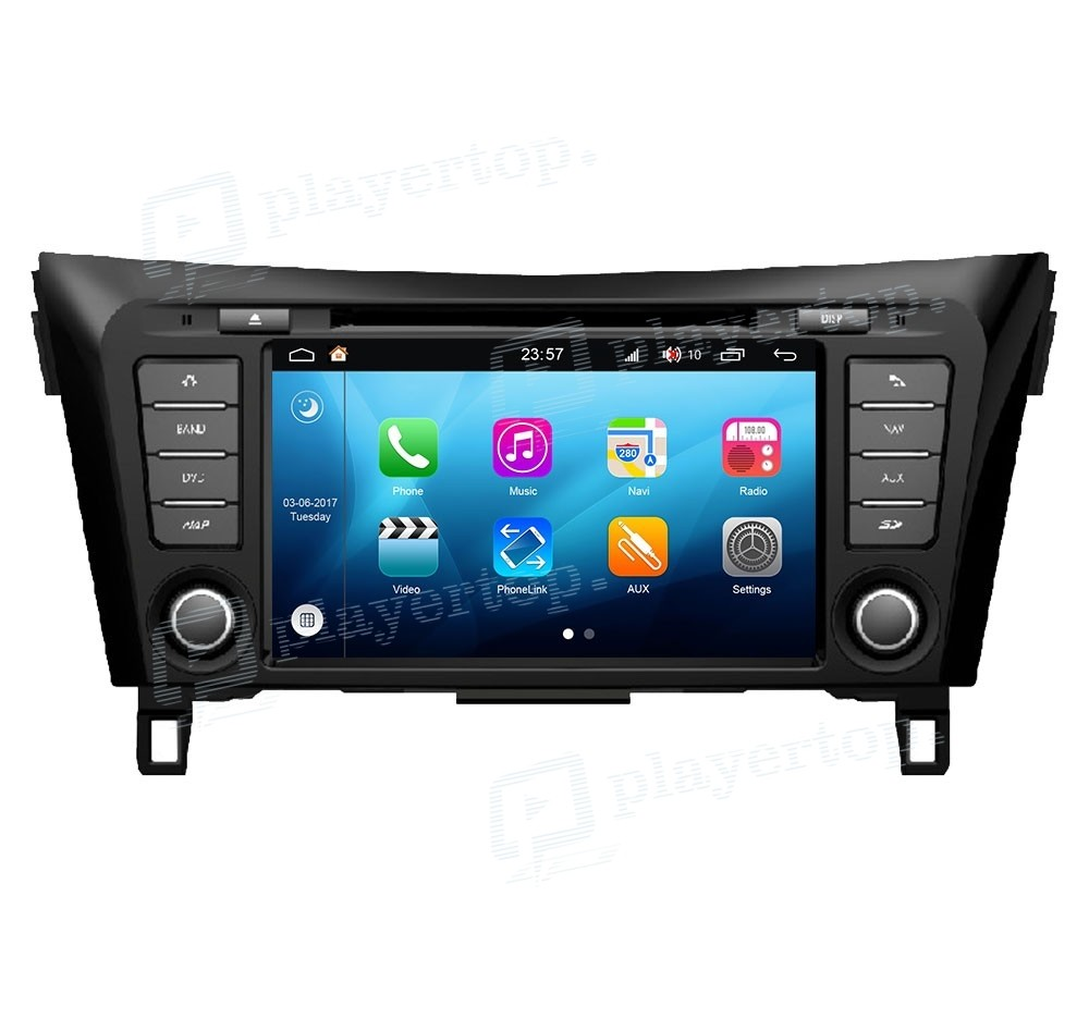 autoradio nissan x trail 2014 android 8 0. Black Bedroom Furniture Sets. Home Design Ideas