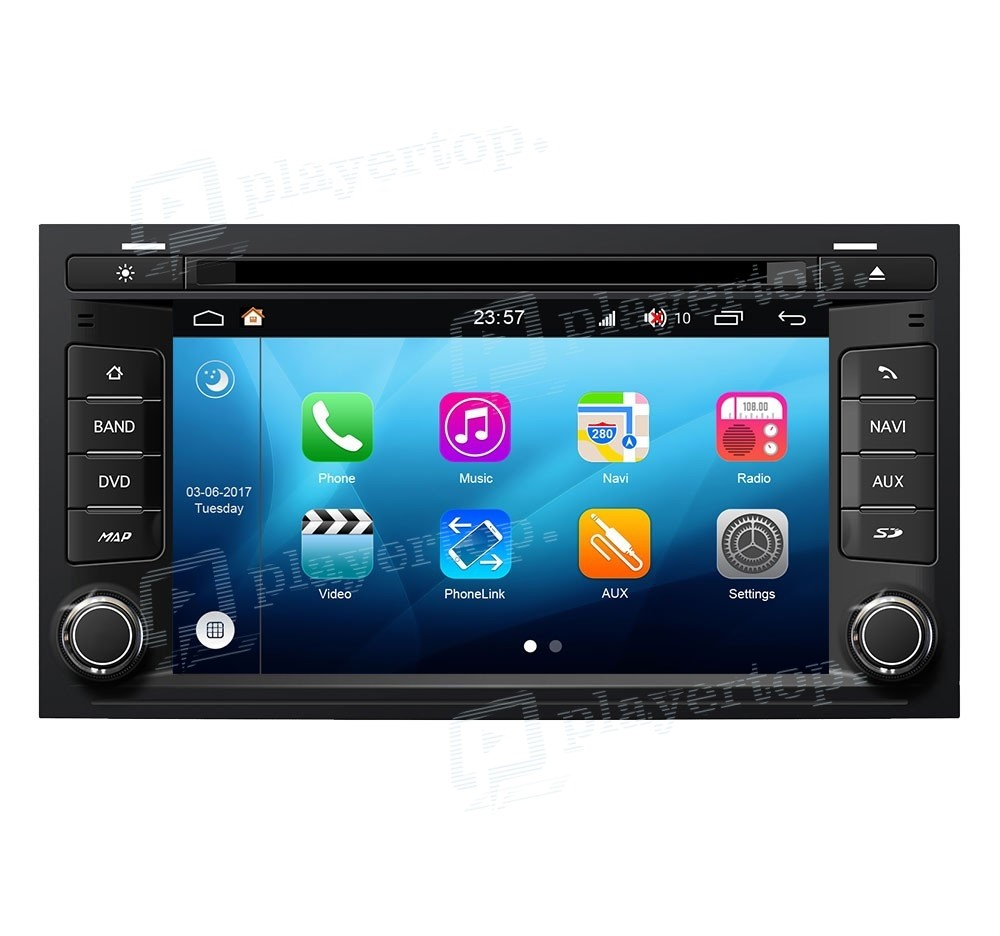 autoradio seat leon 2013 android 8 0 player top. Black Bedroom Furniture Sets. Home Design Ideas