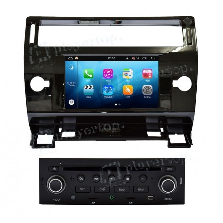 autoradio citroen c4 2004 2009 android 8 0 player top. Black Bedroom Furniture Sets. Home Design Ideas