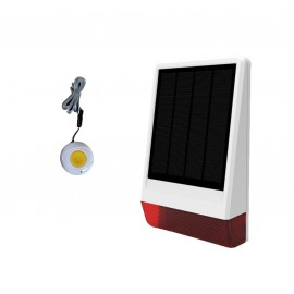 Alarme GSM solaire
