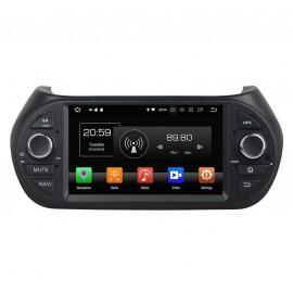 Autoradio Android 8.0 Fiat Fiorino (2008-2015) sans DVD