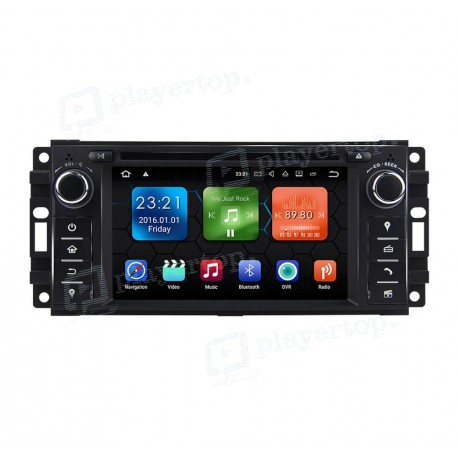 Autoradio DVD GPS Dodge Charger (2006-2013) Android 8.0