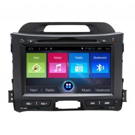Autoradio DVD GPS KIA Sportage (2010-2012) Android 7.1
