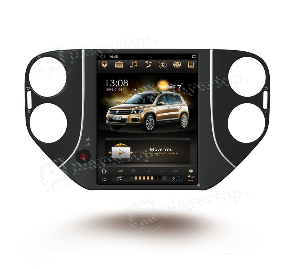 autoradio gps vw tiguan 2010 2016 sans dvd 10 4 pouces. Black Bedroom Furniture Sets. Home Design Ideas