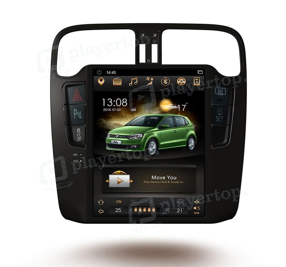 autoradio gps vw polo 2010 2016 sans dvd 10 4 pouces android 7 1. Black Bedroom Furniture Sets. Home Design Ideas