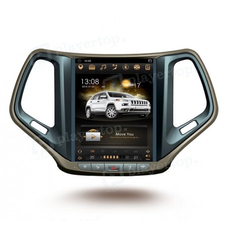 Autoradio GPS Jeep Cherokee (2015-2017) 10.4 pouces Android 7.1