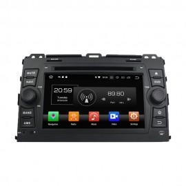 Autoradio DVD GPS Android 8.0 Toyota Land Cruiser (2003-2009)