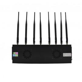 Brouilleur de téléphone 8 antennes omnidirectionnelles