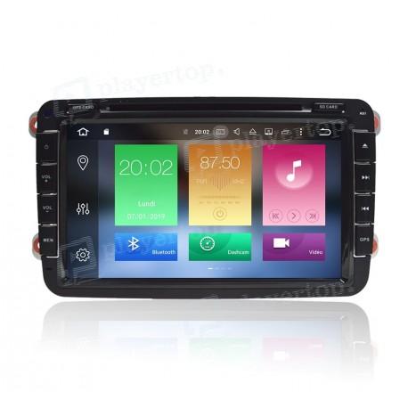 Autoradio DVD GPS Android 8.0 VW Tiguan (2007-2011)