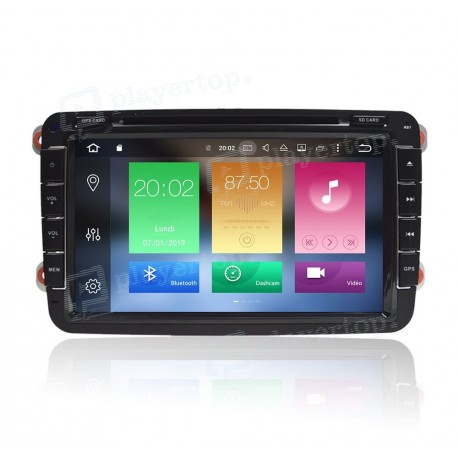 Autoradio DVD GPS Android 8.0 VW Polo 5