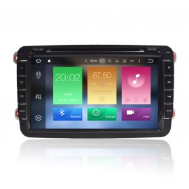 Autoradio DVD GPS Android 9.0 VW Caddy (2004-2012)