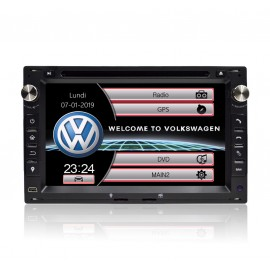 Poste auto GPS VW Golf 4