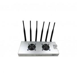 Brouilleur de téléphone 6 antennes omnidirectionnelles