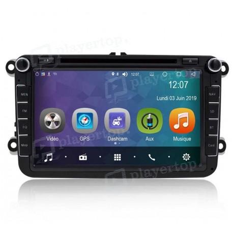 Auto-radio Android 8.0 VW Scirocco (2008-2013)