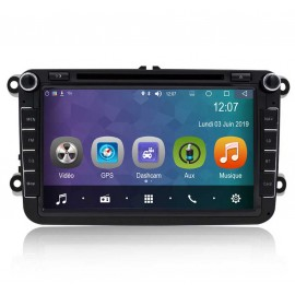 Auto-radio Android 8.0 VW Touran (2003-2011)