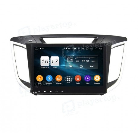 Autoradio Android 9.0 Hyundai IX25 (2014-2015)