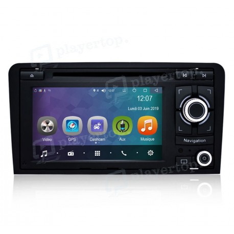 Poste Audi A3 GPS Android 8.0 (2003-2013)