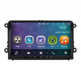 Auto-radio Android 8.0 Skoda Superb (2006-2013)