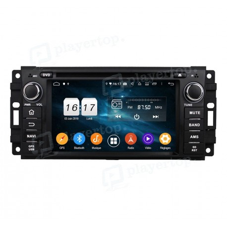 Autoradio GPS Android 9.0 Dodge 3500 (2005-2007)