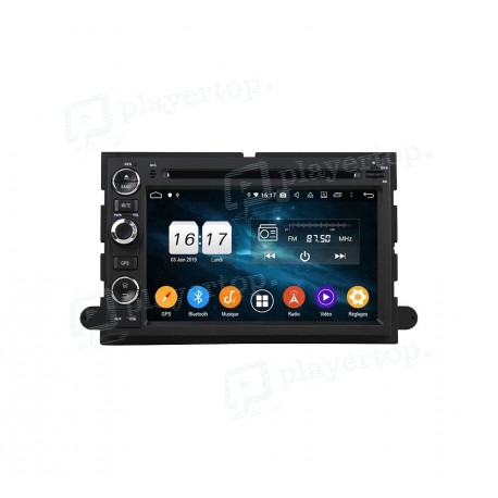Autoradio DVD GPS Android 9.0 Ford Fusion (2006-2009)