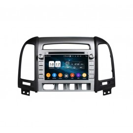 Autoradio GPS Android 9.0 Hyundai Santa-fe (2006-2012)