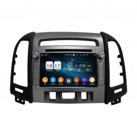 Autoradio GPS Android 9.0 Hyundai Santa-fe 2012