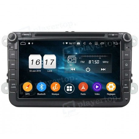 Autoradio Android 9.0 VW Caddy (2006-2012)