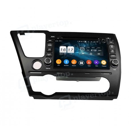 Autoradio GPS Android 9.0 Honda Civic 2014