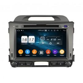 Autoradio GPS Android 9.0 KIA Sportage R (2010-2012)