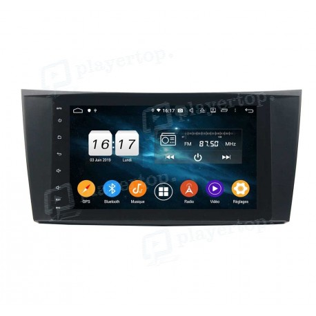 Autoradio Android 9.0 Mercedes G Classe W463 (2001-2008)