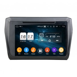 Autoradio Android 9.0 Suzuki Swift 2017