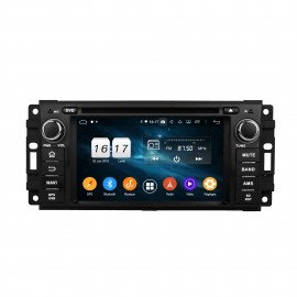 Autoradio GPS Android 9.0 Jeep Grand Cherokee (2005-2012)