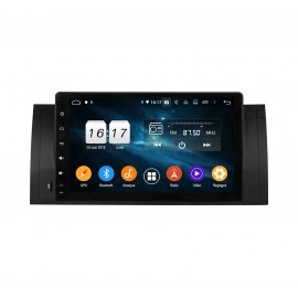 Autoradio DVD GPS Android 9.0 BMW E39 (1996-2001)