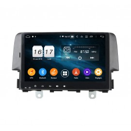 Autoradio Android 9.0 Honda Civic (2016-2017)