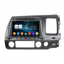 Autoradio DVD GPS Android 9.0 Honda Civic (2006-2011)